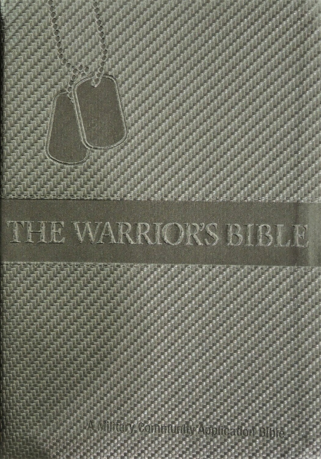 Warriors Bible (NKJV) Gunmetal PU Cover