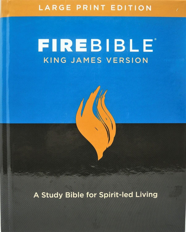 King James Version (KJV) Large Print Hardcover
