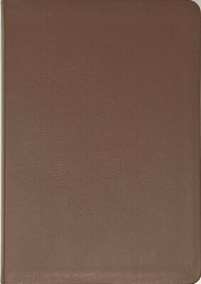 Warriors Bible (NKJV) Genuine Leather Burgandy Cover
