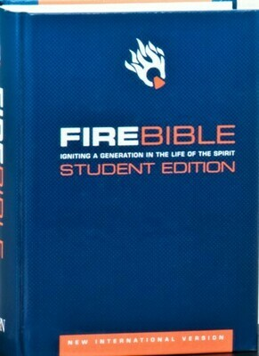 New International version (NIV 1984) Student Edition - Blue Hardcover