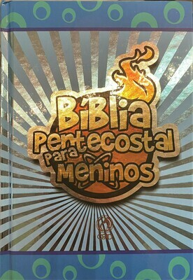 Portuguese FireBible for Kids Blue Hardcover
