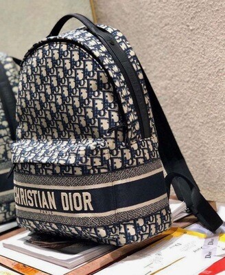 CD LOGO STAMPED BACKPACK