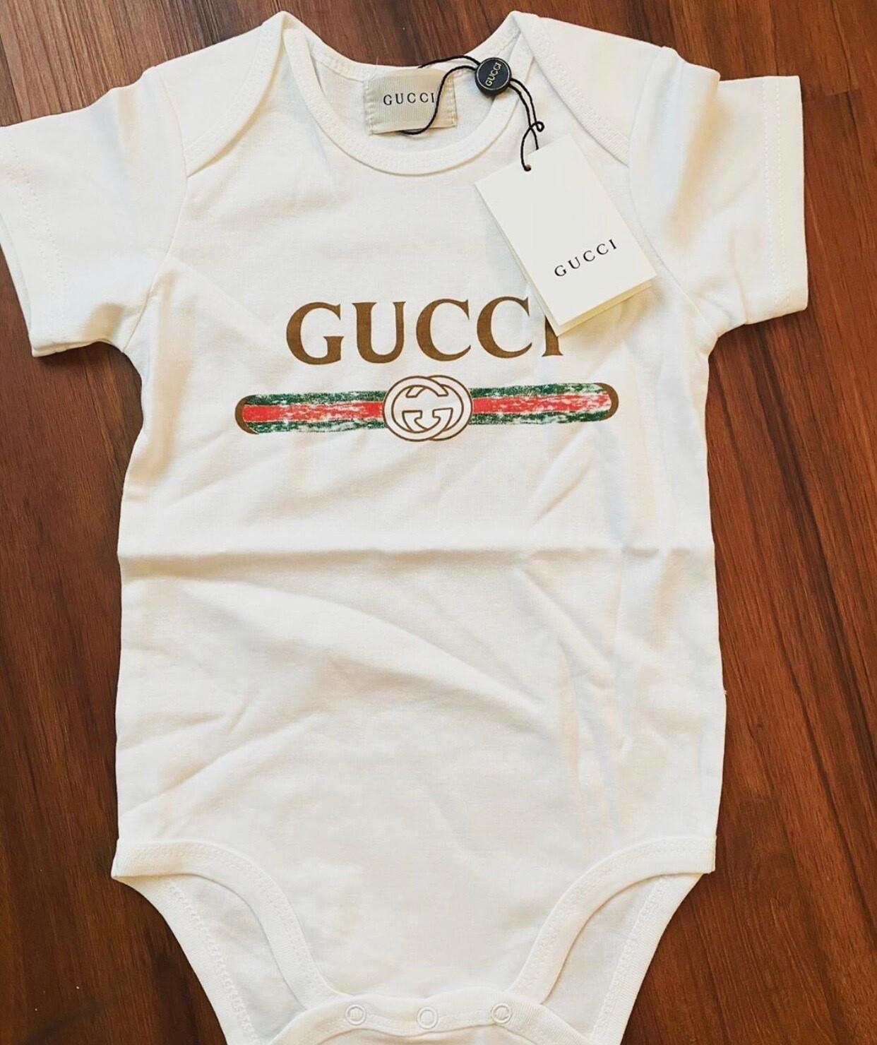 Original Gucci Logo ONESIE