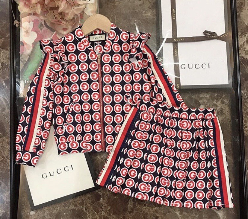 GG APPLE SKIRT SET