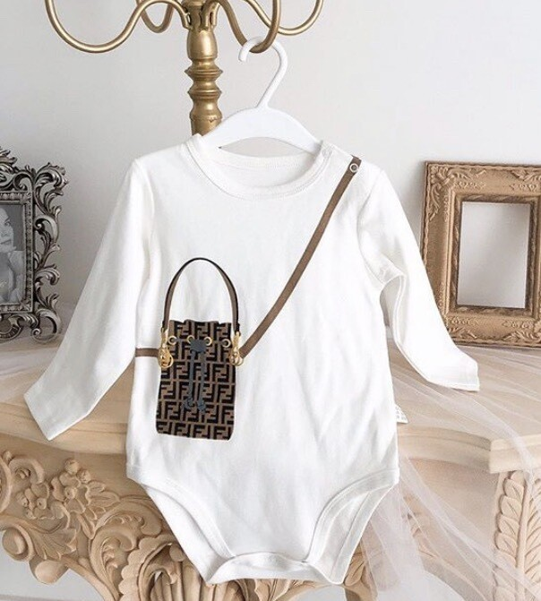 FENDI PURSE ONESIES