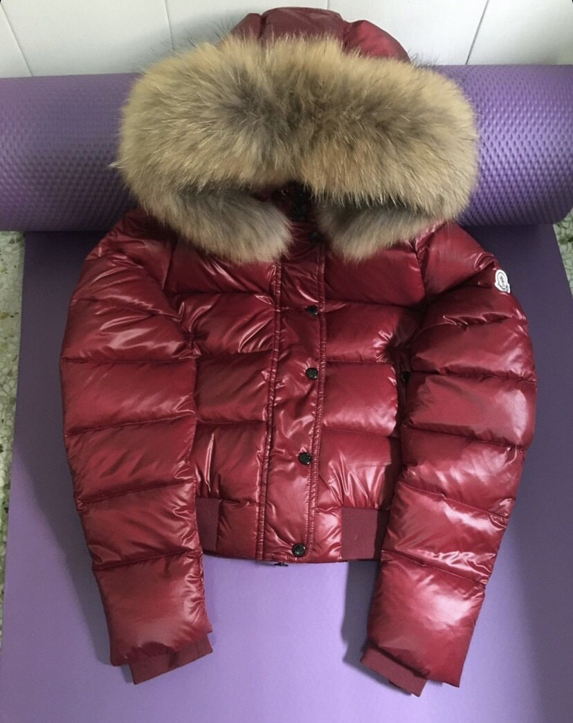 MONCLER FUR HOODED PUFF