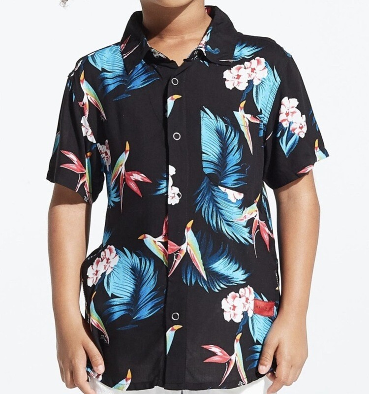 PARADISE BUTTON UP