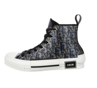 DIOR B23 Oblique Strass Sneakers