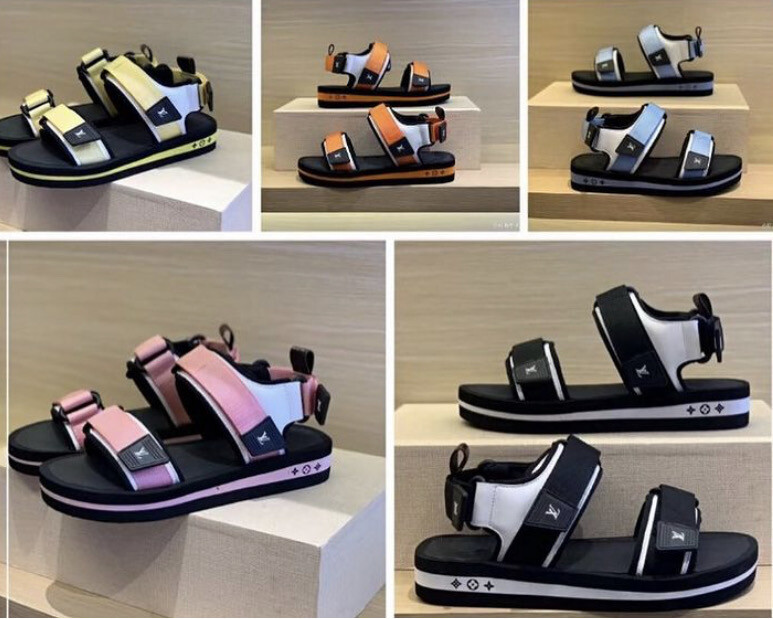 LV Sandals Strap