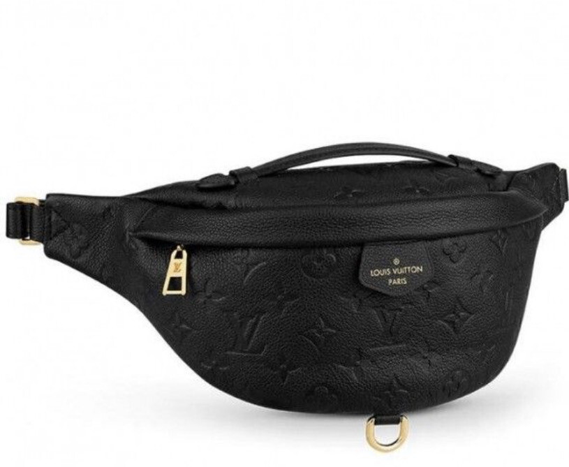 LV LEATHER FANNY