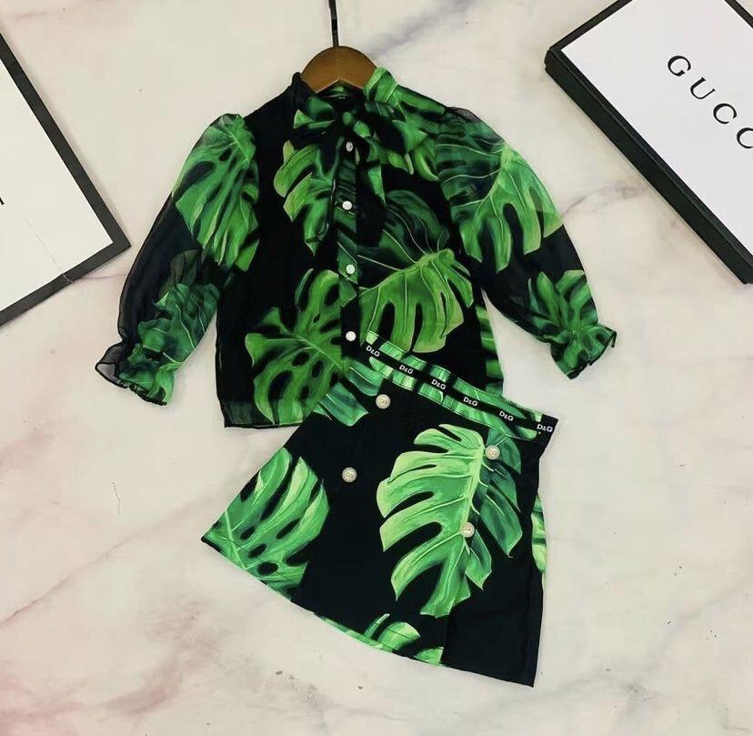 D&G Skirt Set