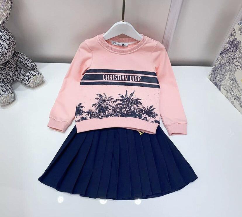 Dior Skirt Set