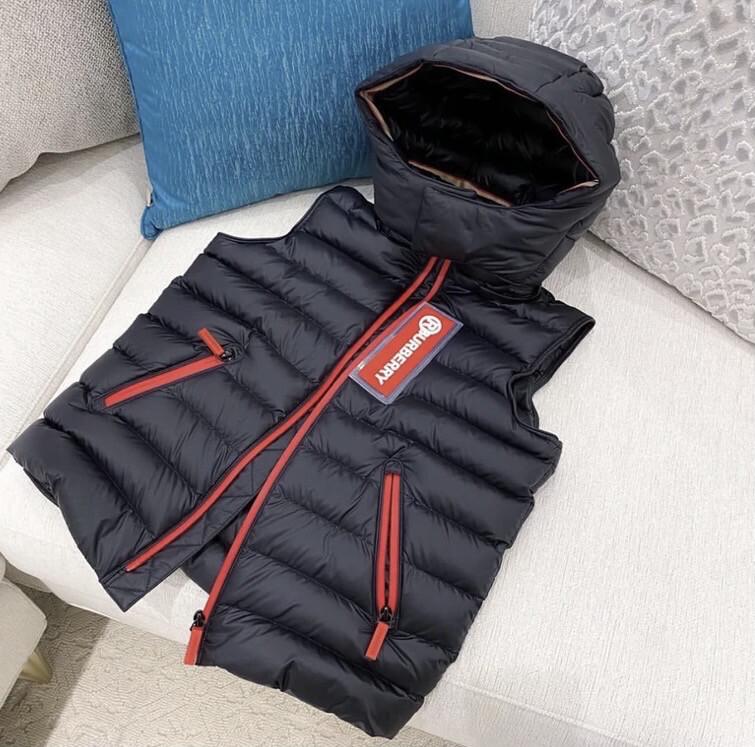 BUR Black Puff Vest