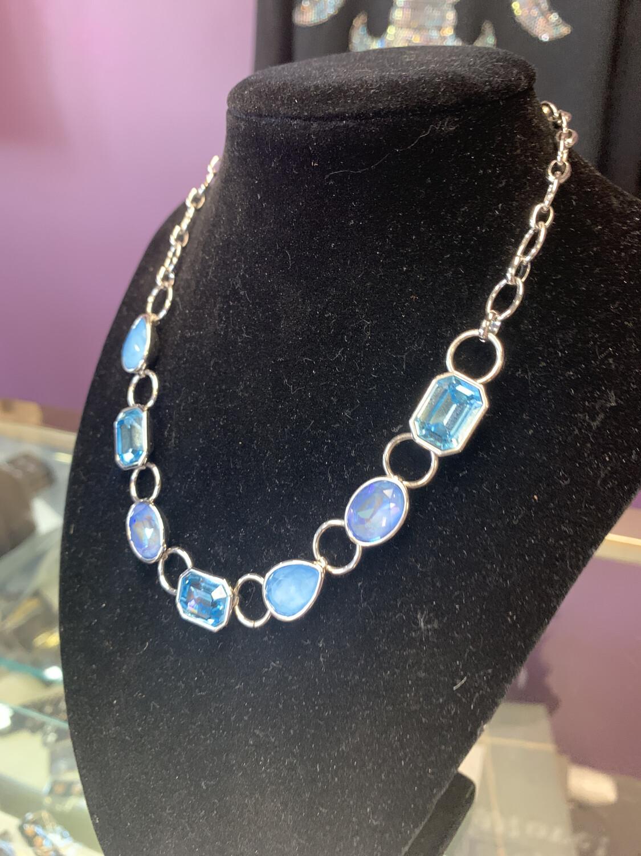 Blue Collar Necklace