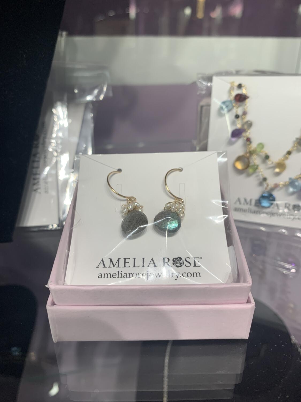 Wildflower Pearl Fringe Earring