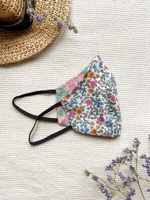 Reversible and reusable Face Mask - Peony