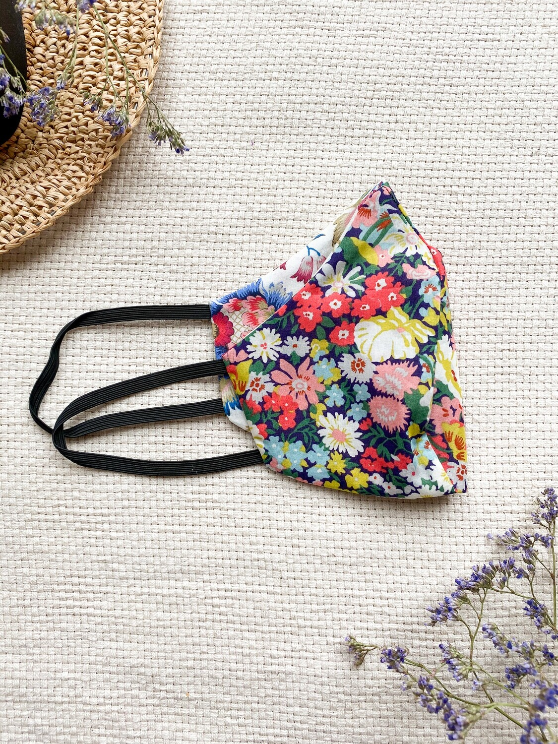 Reversible and reusable Face Mask - Cherry Blossom