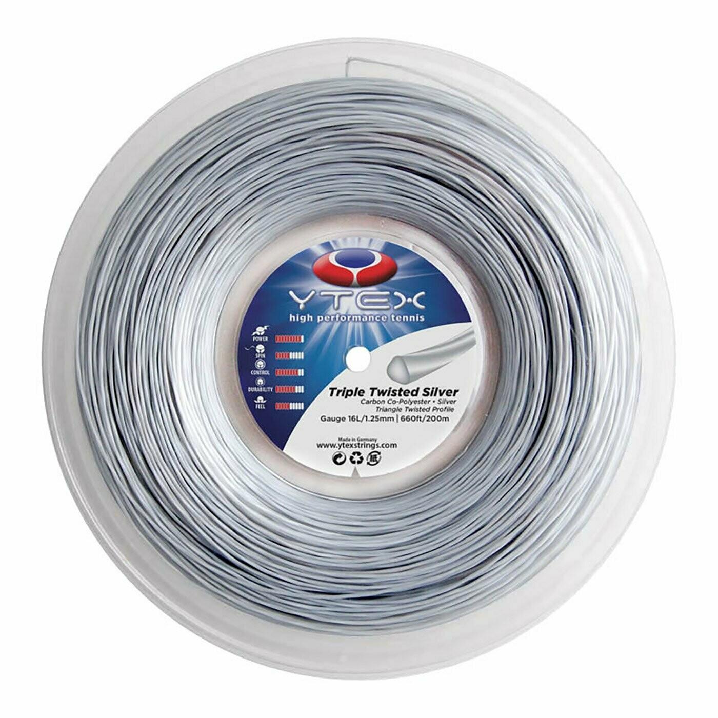Ytex Triple twisted silver