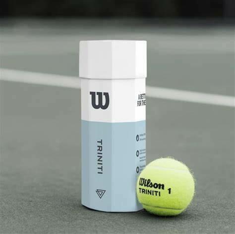 Wilson Triniti Tennis Balls 3pack