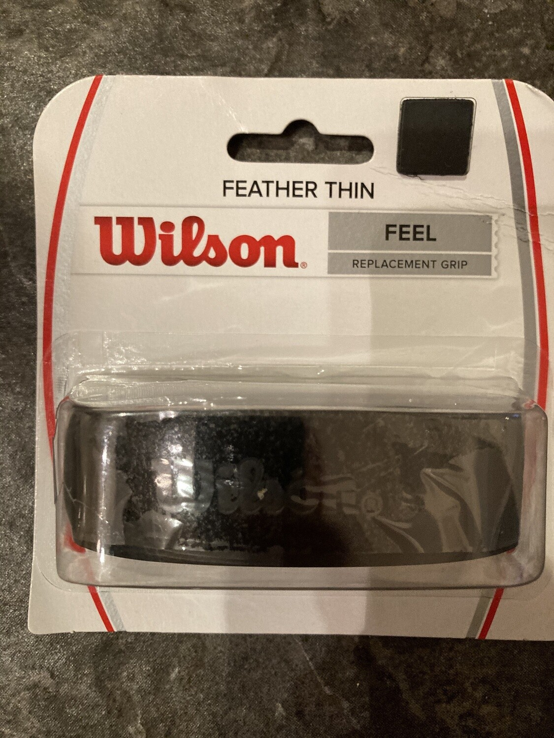 Wilson Feather Thin Grip Black