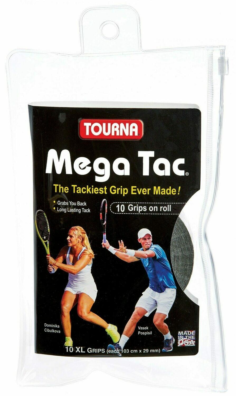 Tourna Mega Tac 10 pack black