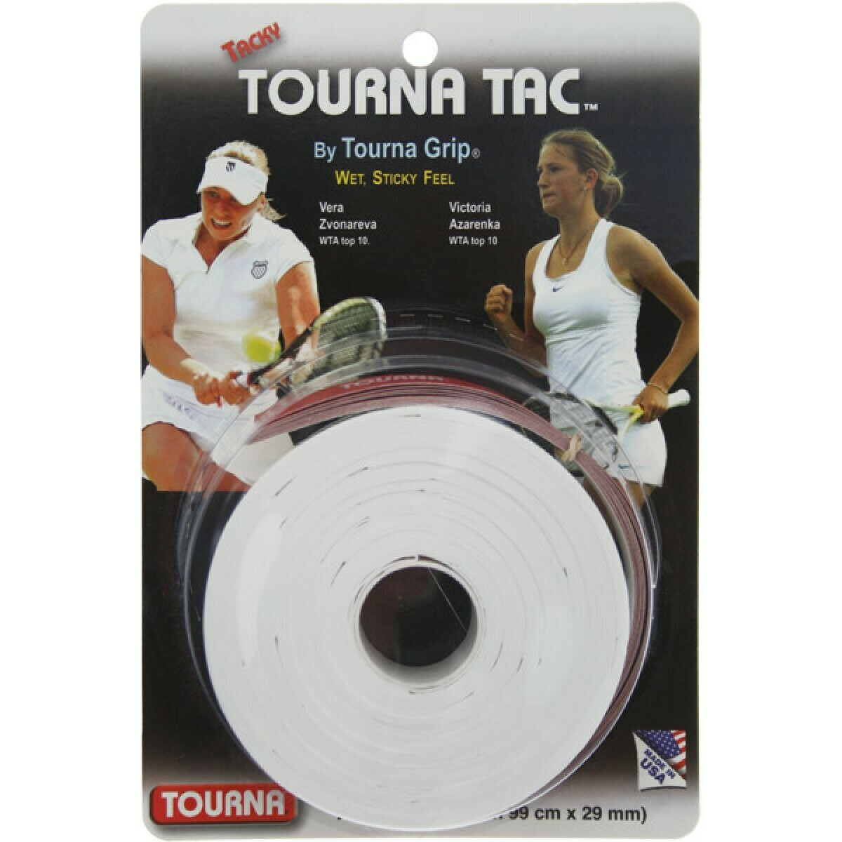 Tourna Tac 10 pack BLACK