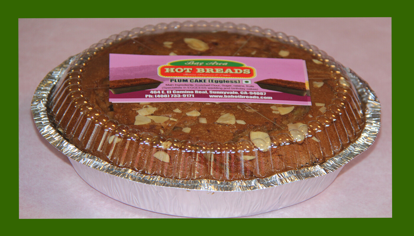 Plum Cake - Eggless