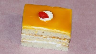 Mango - Pastry - Eggless