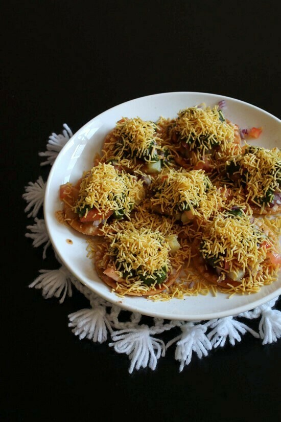 Sev Potato Puri