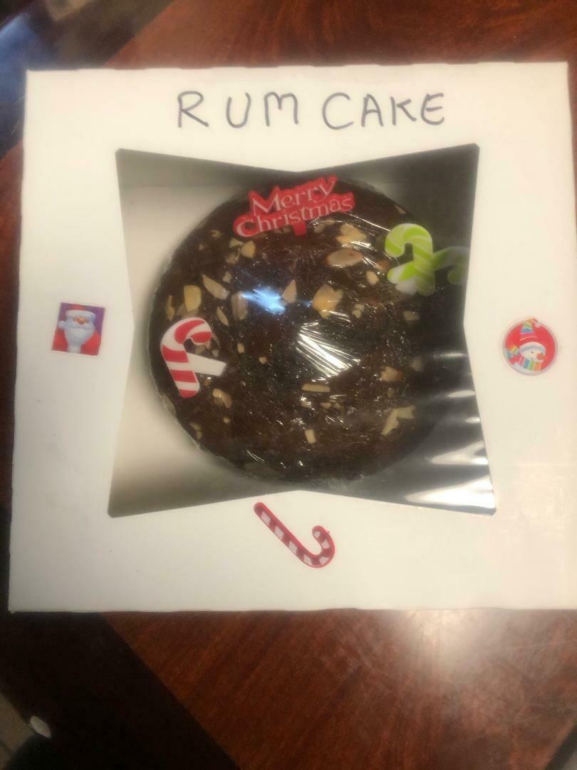 Christmas RUM Cake