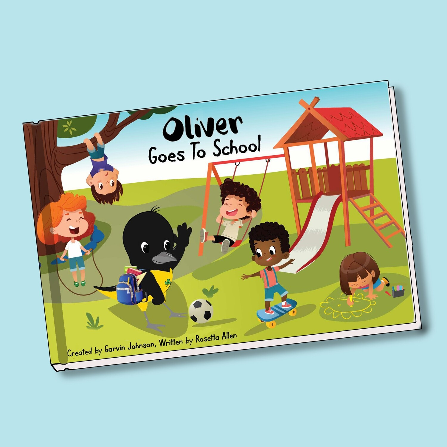 Oliver Goes To School
