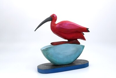 Dona Dalton Scarlet Ibis/Half Moon