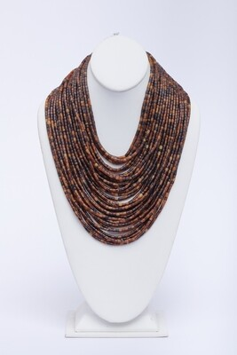 Resin Multistrand Necklace