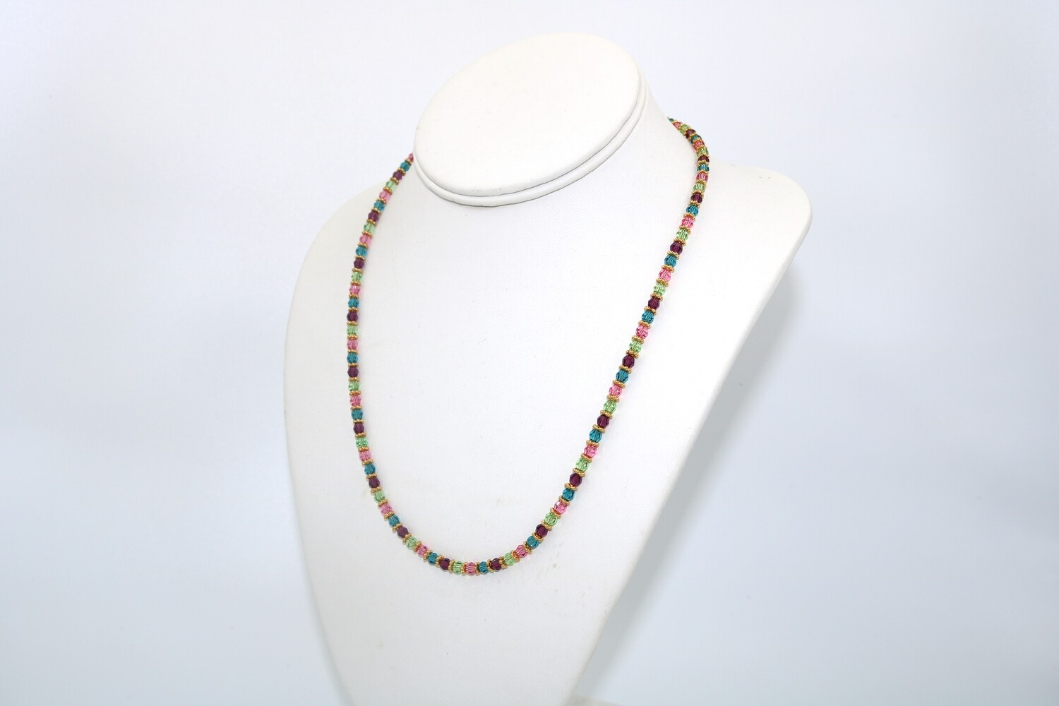 Crystal Necklace Spring Mix