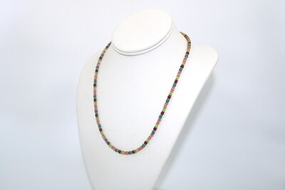 Anne Wood Swarovski Crystal Necklace Spring Mix 18