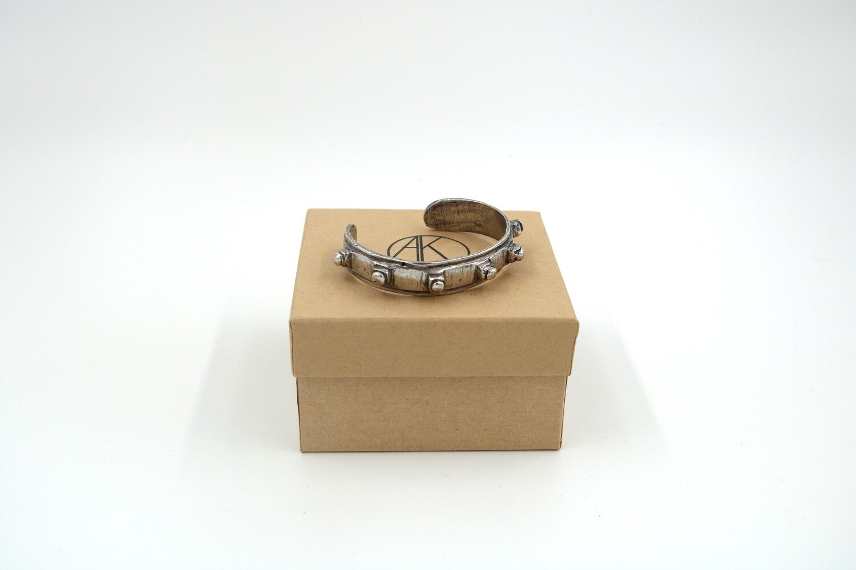 Amanda Kaiserman Platon Bracelet - Wide Silver