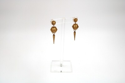 Amanda Kaiserman Jupiter Earrings Gold