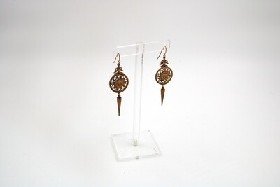 Amanda Kaiserman Golden Louis Earrings