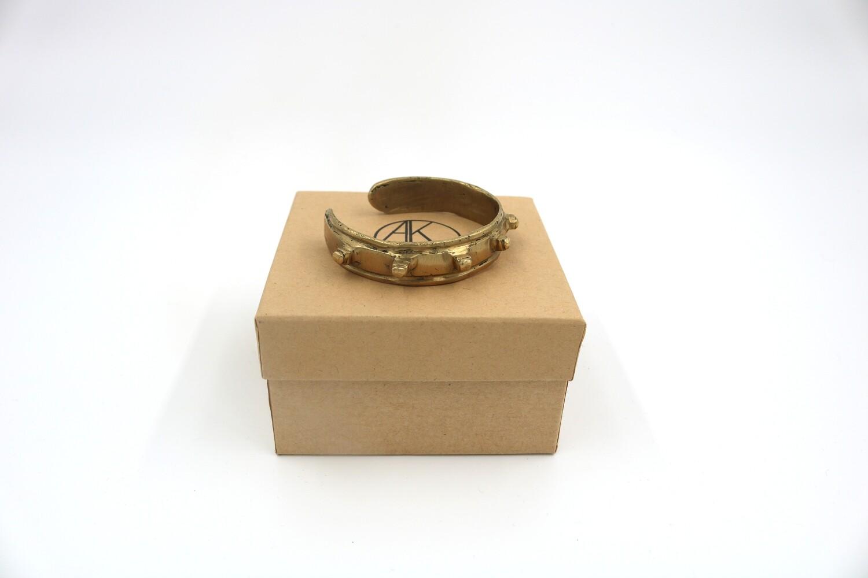 Amanda Kaiserman Platon Bracelet Wide Gold