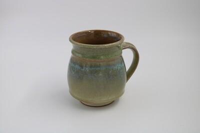 Green Ceramic Mug (Microwaveable)