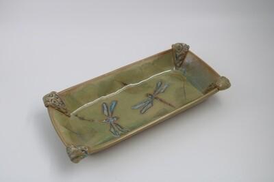 Rectangular Dragonfly Plate 10.5