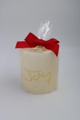 Pearl Luminary 4x4.5 Joy Candle