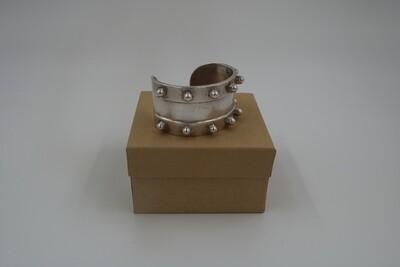 Amanda Kaiserman Gladiator Cuff Bracelet - Silver