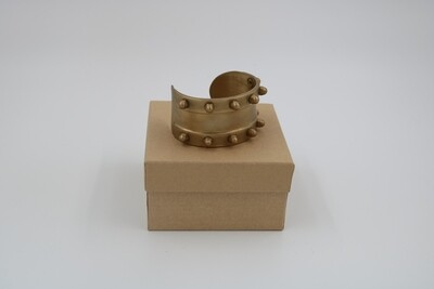 Amanda Kaiserman Gladiator Cuff Bracelet - Brass