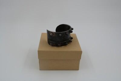 Amanda Kaiserman Gladiator Cuff Bracelet - Oxidized Silver