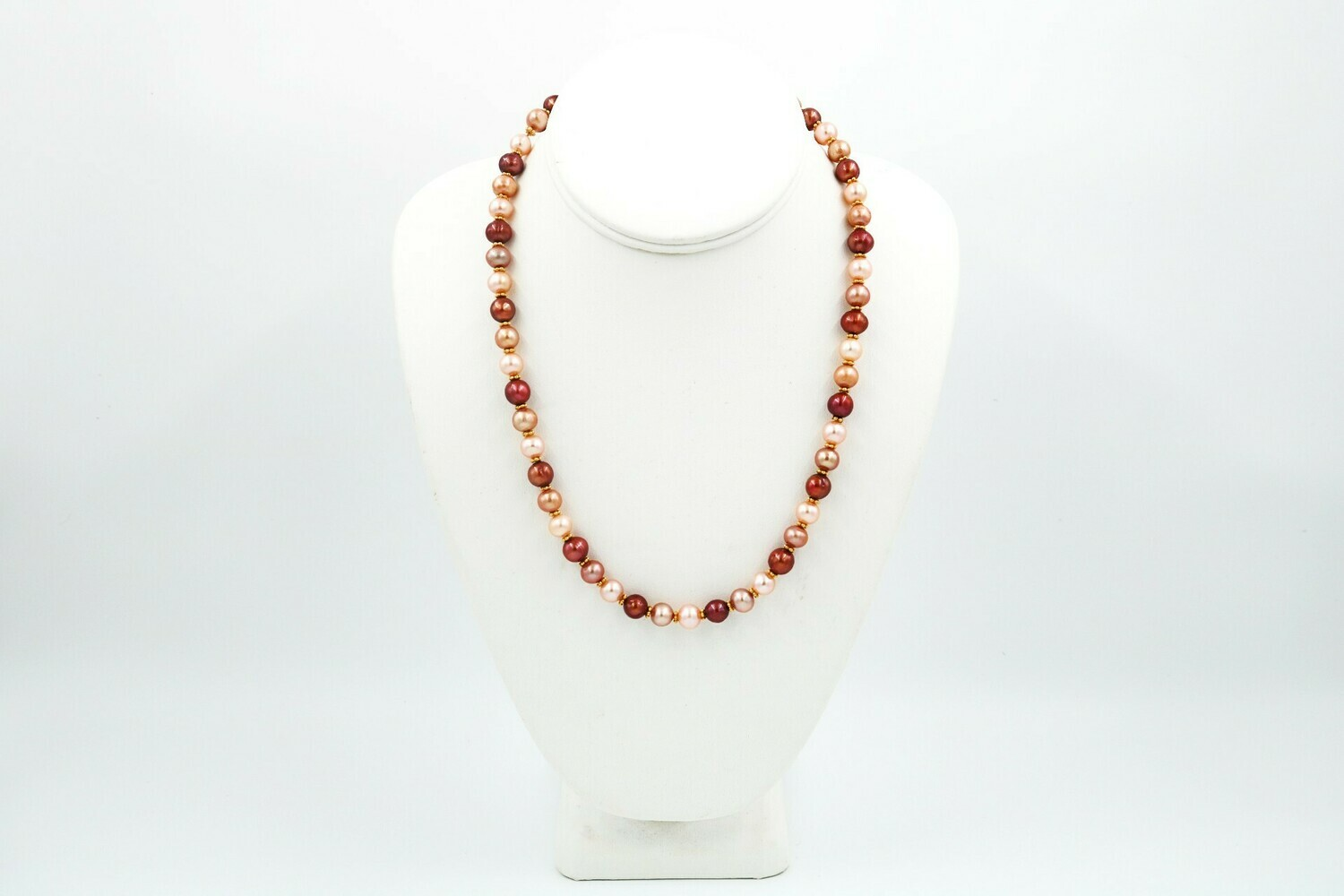 """Anne Wood Pearl Necklace Multi 18"""""""