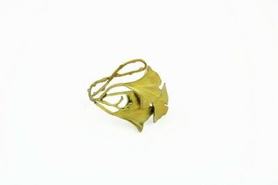 Michael Michaud Gingko Cuff Bracelet