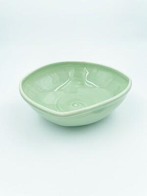 Young Kang Celadon Square Bowl
