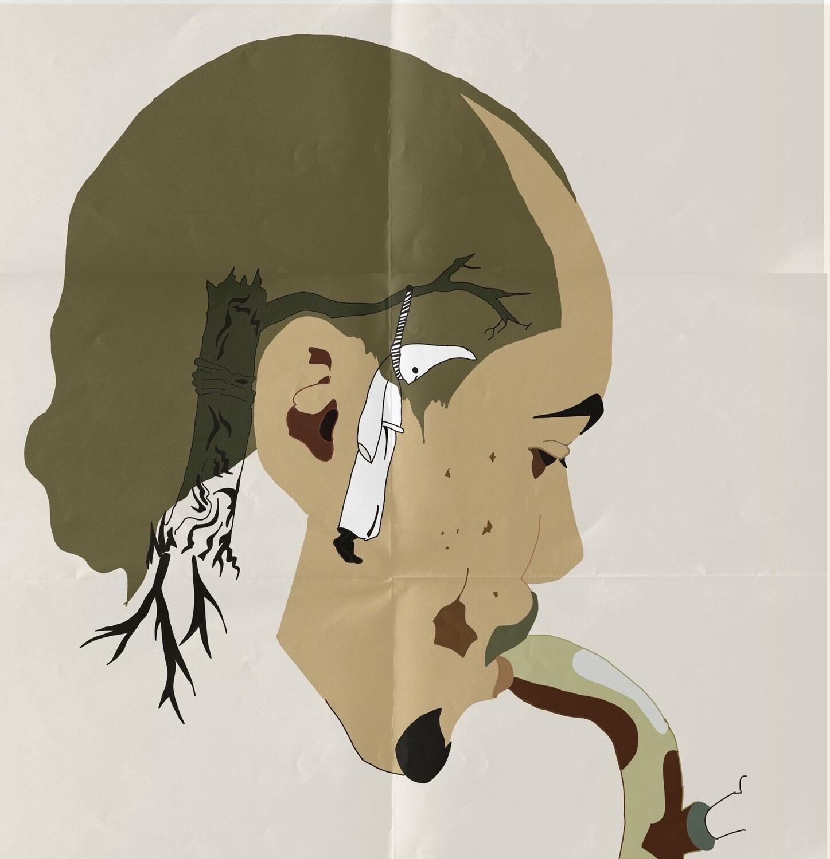 """Killing the Fascist Inside Our Head"" Print"