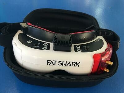 Fat Shark HDO Goggles with Furious Tru D X
